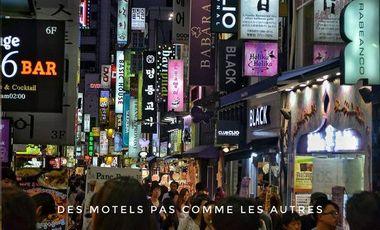 Project visual A l'abri des regards : Plongée dans les motels coréens