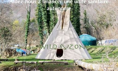 Visueel van project WILD SUZON : l'aventure insolite et humaine en pleine nature.