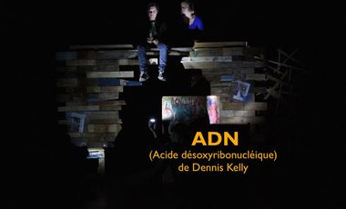 Visueel van project ADN (Acide désoxyribonucléique) de Dennis Kelly