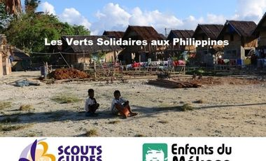 Project visual Les Verts Solidaires aux Philippines