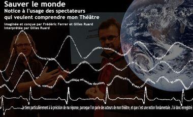 Project visual SAUVER LE MONDE