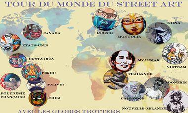 Visuel du projet Tour du monde du Street Art
