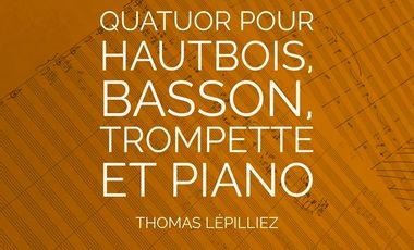 Visueel van project Quatuor pour hautbois, basson, trompette et piano