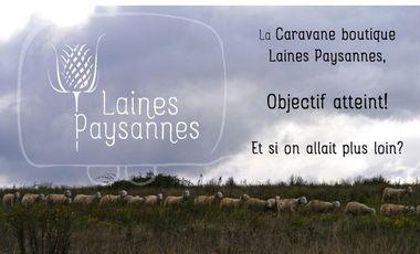 Visuel du projet Une Caravane boutique  pour Laines Paysannes!