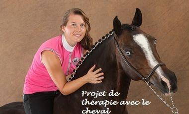 Project visual Thérapie avec le cheval