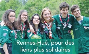 Project visual Rennes-Huê, pour des liens plus solidaires