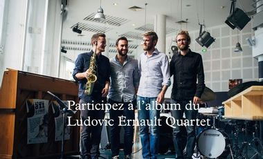 Visueel van project Nouvel Album - Ludovic Ernault Quartet