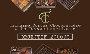 Project visual Tiphaine Corvez Chocolatière - La Reconstruction
