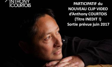 Project visual Financement du nouveau clip vidéo d'Anthony COURTOIS