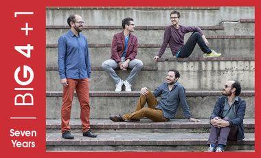 """Visueel van project Big Four - Julien Soro / nouvel album """"Seven Years"""""""