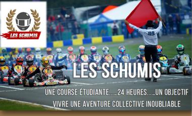 Visueel van project La Team Schumis aux 24H karting étudiant de l'ESSEC