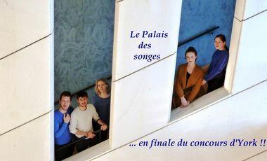 Visueel van project Le Palais des songes en finale à York !