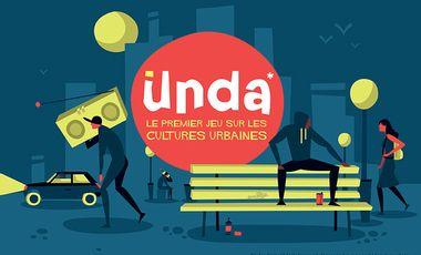 Project visual UNDA - le premier jeu de société sur les cultures urbaines