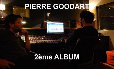 Visuel du projet Financement du deuxième album du PIERRE GOODART