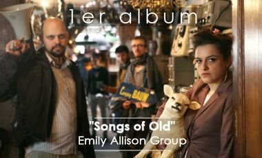 "Visueel van project L'Album de ""Songs of Old""  - Emily Allison Group"