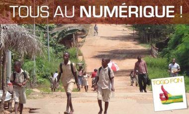 Visuel du projet Le numérique pour les enfants du Togo