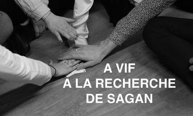 Visuel du projet A vif. A la recherche de Sagan