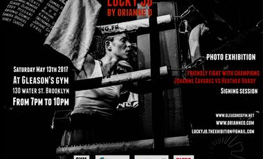 """Project visual """"Lucky Jo"""", Marseille-New York boxing"""