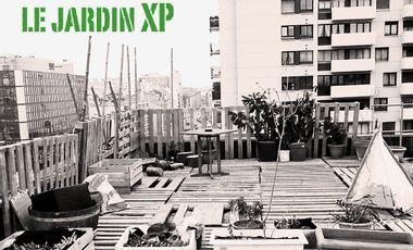 Project visual Le Jardin XP, l'expérience d'une nature urbaine