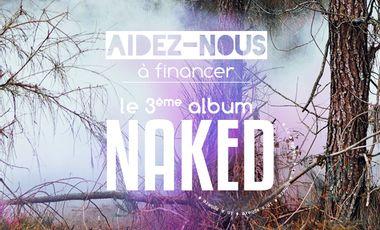 Project visual Troisième album de NAKED (in a sphere)
