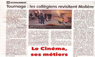 Project visual Le Cinéma, ses métiers