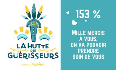Visueel van project La Hutte des Guérisseurs