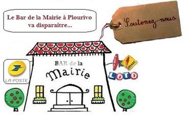 "Visueel van project Soutien au ""Bar de la Mairie"" de Plourivo"