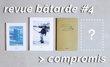 Project visual revue bâtarde #4 — COMPROMIS