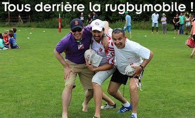 Project visual Tous derrière la rugbymobile !