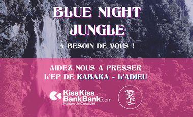 Visueel van project Pressage de l'EP de Kabaka - Blue Night Jungle