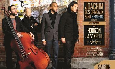 Visuel du projet 1er album du JOACHIM DES ORMEAUX Band
