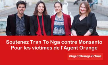 Visuel du projet Contre Monsanto et les firmes ayant fabriqué la dioxine - Agent Orange, soutenons Tran To Nga !