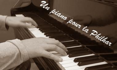 Project visual Un piano pour la philhar