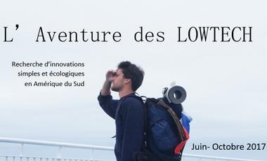 Visueel van project A la recherche d'innovations LowTech en Amérique du Sud!