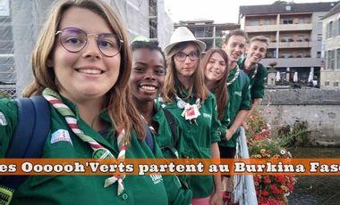 Project visual Projet de Solidarité Internationale : Les Oooooh'Verts partent au Burkina Faso!