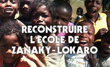 Project visual Reconstruire L'école de Zanaky Lokaro