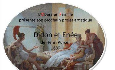 Visuel du projet Didon et Enée de Purcell dans la Drôme : aidez nous !