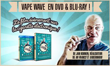 Project visual VAPE WAVE EN DVD & BLU-RAY !