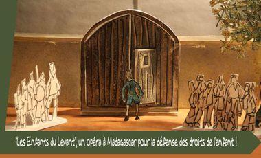 """Visueel van project """"Les Enfants du Levant"""", un opéra à Madagascar pour la défense des droits de l'enfant"""