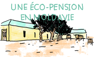 Project visual Une éco-pension en Moldavie