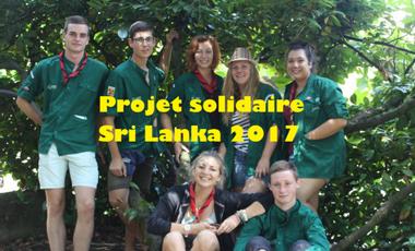 Visueel van project Voyage solidaire pour venir en aide à la population Sri Lankaise
