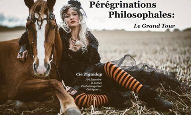 Project visual Pérégrinations Philosophales : Spectacle itinérant, alternatif et utopiste
