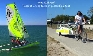 Visueel van project IZIBoat® : La voile facile