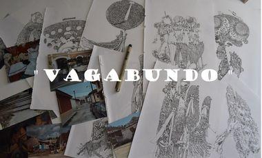 """Visuel du projet """" VAGABUNDO""""- Premier Livre de Vilx"""
