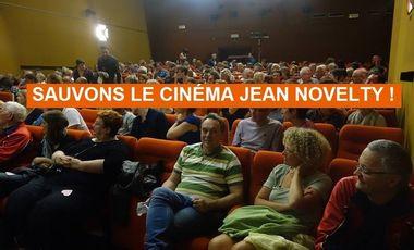 Visuel du projet Sauvons le Cinéma Jean Novelty