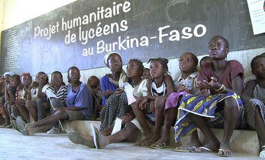 Project visual Projet humanitaire de lycéens au Burkina-Faso