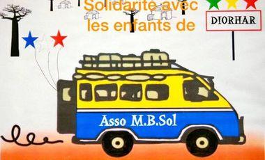 Project visual Solidarité avec les enfants de Diorhar