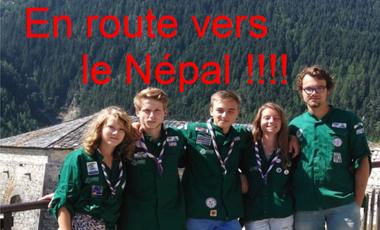 Visueel van project Les Compas d'talent au Népal