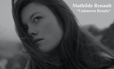 Visuel du projet Mathilde Renault - New ep * Unknown beauty *