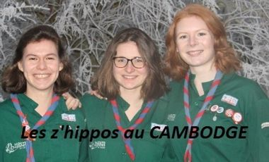 Project visual Les z'hippos au Cambodge